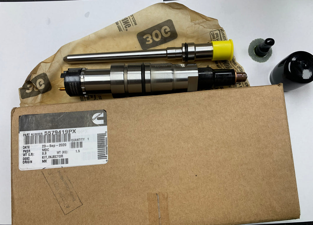 NEW CUMMINS INJECTOR | 5579419PX | $890.00 + $200.00 CORE CHARGE