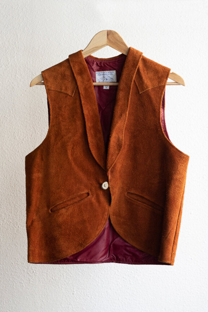 Vintage Rocky Mountain Featherbed Vest