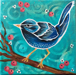 """Blue Love Bird"""