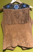 Load image into Gallery viewer, Métis Fringe Vest #3