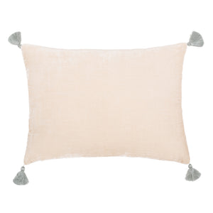 Goa pom pom cushion in 'Namib' colour