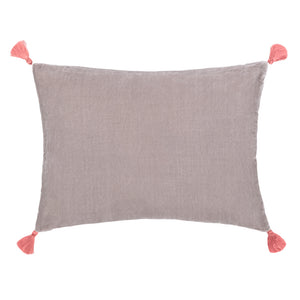 Goa pom pom cushion in 'Moscow' colour