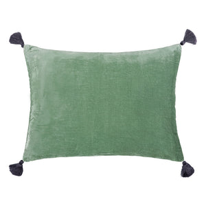 Goa pom pom cushion in comino