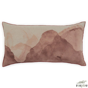 Ink cushion in sepia