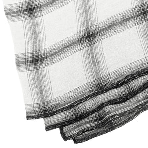 Grande nappe et 8 serviettes Highlands off white