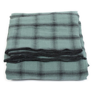 Nappe et 4 serviettes Highlands beryl