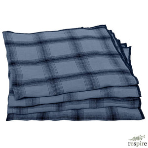 Le Monde Sauvage - Lot de 4 serviettes Highlands Edimbourg