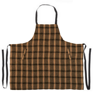 Highlands apron in mustard colour