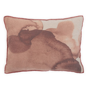 Small Ink cushion in sepia