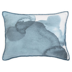 Small Ink cushion in dark denim