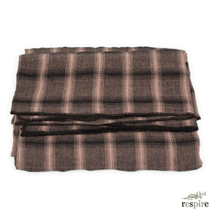 Highlands tablecloth 270x320 in nougat colour