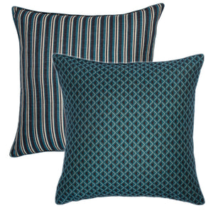 Michiko cushion in blue