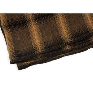 Drap plat Highlands moutarde 270x320 cm