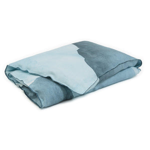 Small Ink eiderdown in dark denim colour