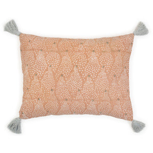 Star cushion in nude
