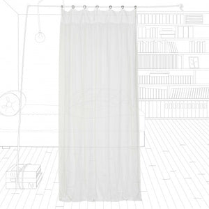 Marriage in Majorca linen curtain