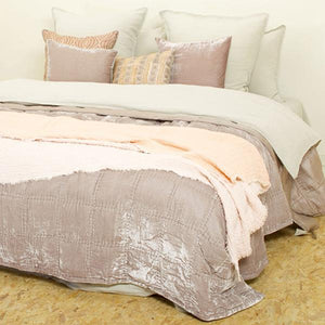 Quilt Goa by night taupe