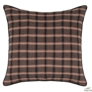 Highlands pillowcase 65x65 cm in nougat colour