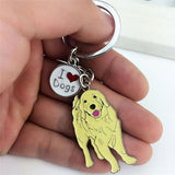 New small hanging pet cat dog tags ID indentity