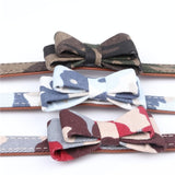 Pet Collars Leash Dog PU Bandana-Style Collar