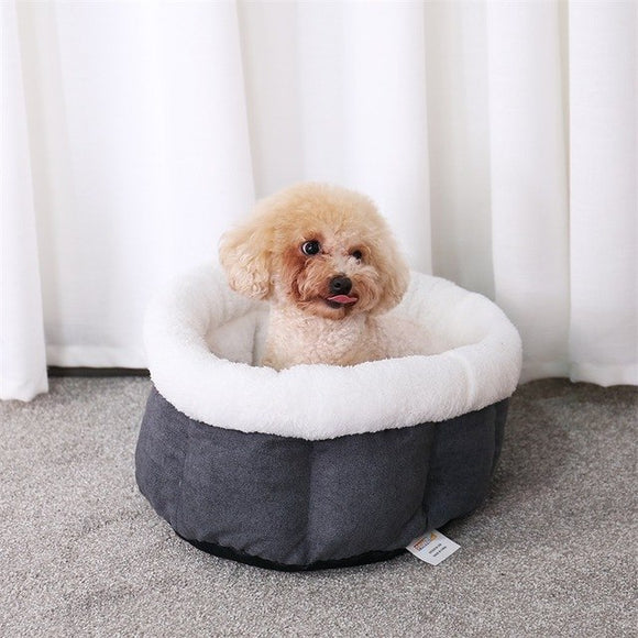 Pet Dog Cat Bed Super Soft Pet Kennel Chenille 2