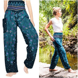 PEACOCK Pants Women Boho Pants Hippie Pants Yoga