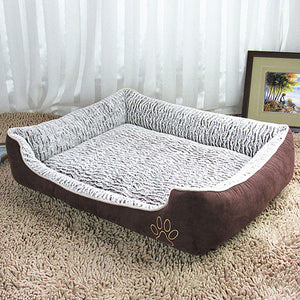 Luxury large Dog Bed Sofa & Big Blanket Cushion Basket Supplies For Large Dogs