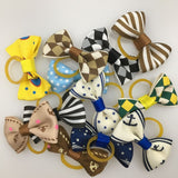 (20 pieces/lot) Cute Ribbon Dogs Cats Hair Accessories Handmade Hair Bows Dog Grooming Accessories 30 Colors