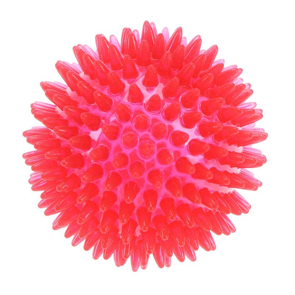 8 cm Dog Cat Pet Chew Toys Dog Teeth Chew Ball Puppy Squeaky Sound Toy Ball