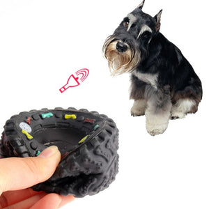 Rubber Dog's Toys Tire Treads Tough Dog Toys