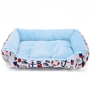 Pet Dog Bed Sofa & Winter Warm Kennel For Cat Puppy