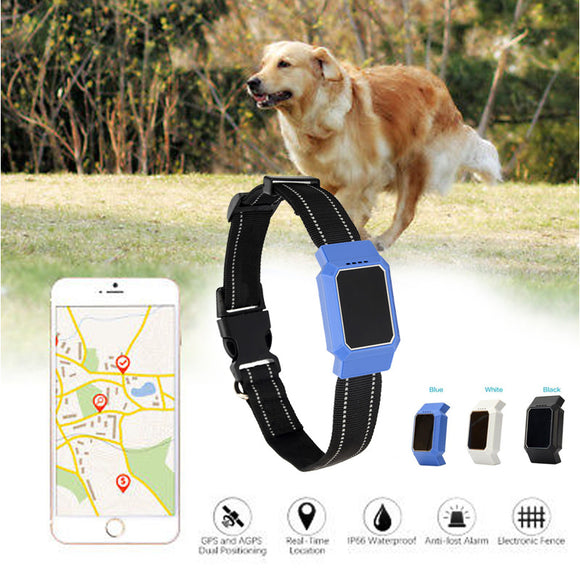 GPS Pet Locator GPS Pet Collar Electric Pet Supplies Accessories GPS Dog Collar Phonetic Dialogue IP67 Pet Tracking Glow