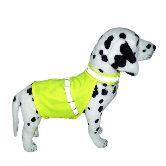 Pet Dog Cat Reflective Vest Fluorescent Security Vest Pet Walking Security Clothes Waterproof