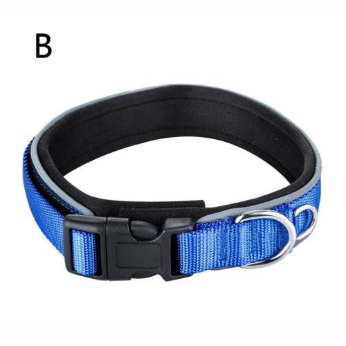 Adjustable Nylon Dog Collar Neck Strap for Large Medium Small Pet