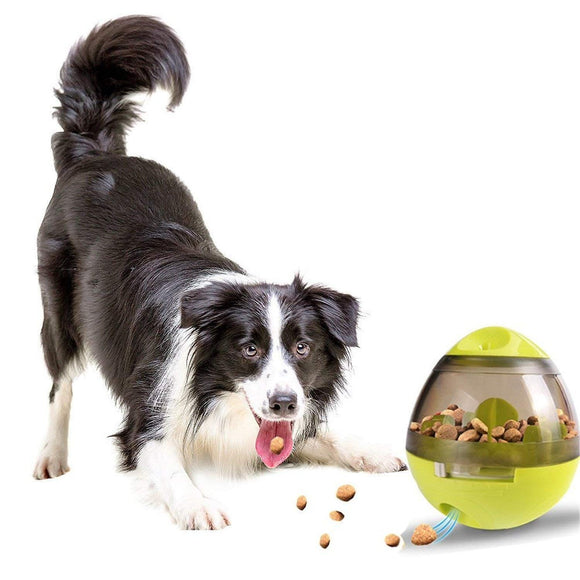 Dog Treat Ball, Interactive Dog Toys Treat Ball Dispenser Tumbler Feeder Increases IQ and Mental Stimulation Pets Treat-Dispensing Ball