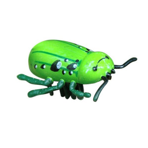 Mini Electric Dog Cat Toy Walking Insect Cat Toys Interactive Cute Ladybird Beetle Shape Kitten Pet Toys
