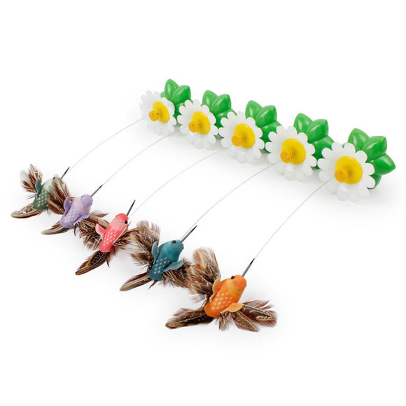 Electric Puppy Kitten Toys Funny Bird Colorful Flying Butterfly