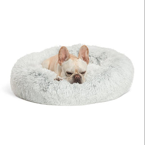 Orthopedic Dog Bed with Fuax Fur