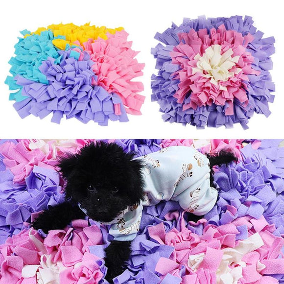 Washable Dog Cat Smell Training Pad Pet Puppy Sniffing Mat Pet Puzzle Toys Blanket for Dog Puppy