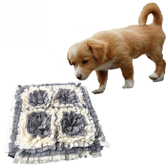 Nose Anti Bite Soft Pet Supplies Cat Puppy Blanket Sniffing Pad Dog Smell Washable Training Mat Foraging Intelligence Toys