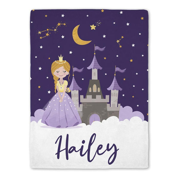 personalized baby blanket for girl