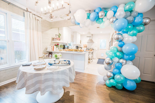 Baby shower at home