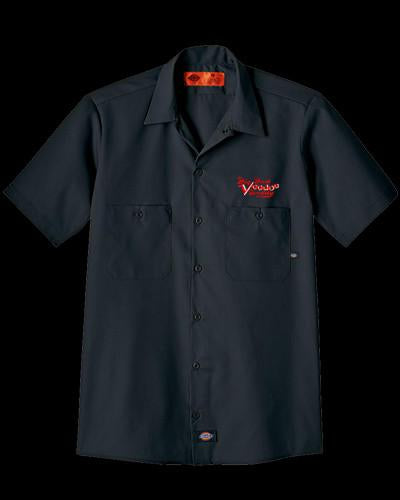 Embroidered Work Shirt - Black (Old Style)