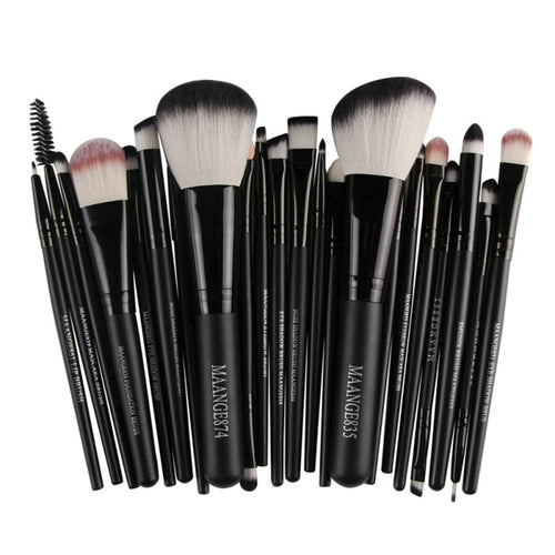 Professional make up brushes