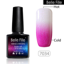 Load image into Gallery viewer, Temperature Color changing Gel Nail Polish