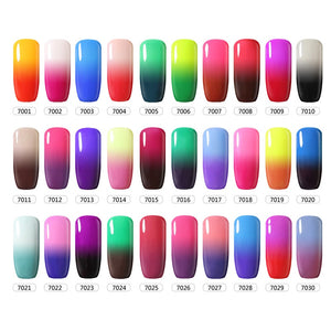 CHARM CHICA Temperature Color Changing Gel Nail Polish