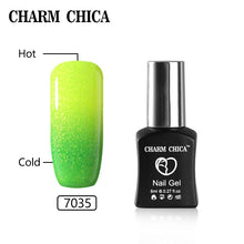 Load image into Gallery viewer, CHARM CHICA Temperature Color Changing Gel Nail Polish