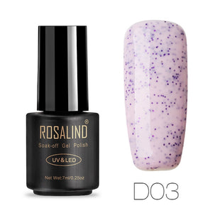 Solid colors Gel Nail Polish by ROSALIND