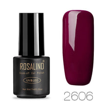 Load image into Gallery viewer, Solid colors Gel Nail Polish by ROSALIND