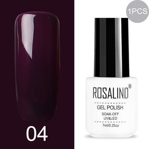 ROSALIND rainbow colored Gel Polish